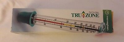 Truzone Peak Flow Meter w/ Instructions, Still in Box, Never Used