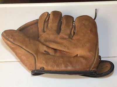 Vintage Leather Cooper Weeks Baseball Glove