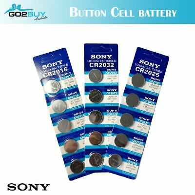 Sony CR2032 CR2016 CR2025 Button Cell 3V Lithium Batteries Bulk Sale Exp2027