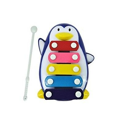 (Blue) - Oyedens 5-Note Xylophone Penguin Baby Kid 5 Wisdom Development