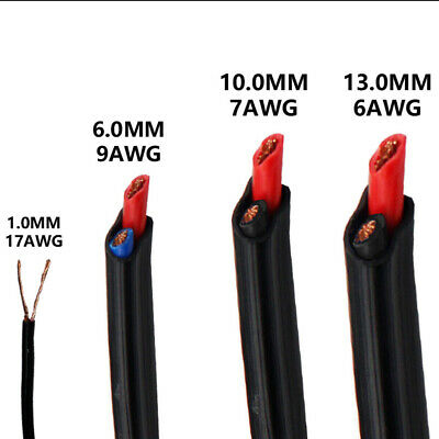 0.5mm,1mm,6mm,10mm,13mm Twin Core Electrical Cable Sheath Wire Auto Boat Solar
