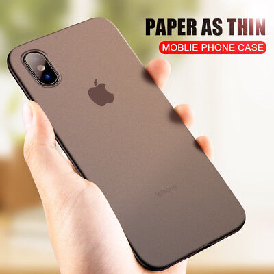 For iPhone XS / Xr / XS Max /X Luxury Ultra-thin Slim Back Case Cover Protection