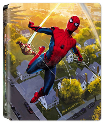 Spider-Man Homecoming 3D Blu-ray Steelbook Film Arena REGION-FREE no dents, mint