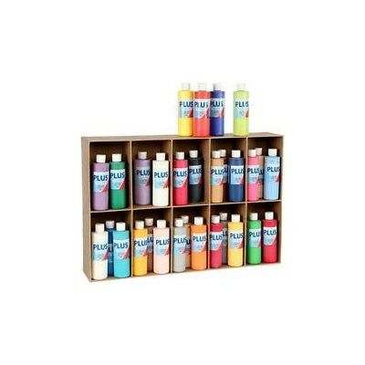 Plus Color Craft Paint, asstd colours, 30x250ml [HOB-39497]
