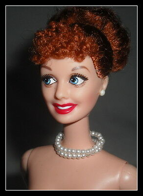 Nude Barbie (Bb) Mattel Celebrity Doll I Love Lucy Radiant Redhead  For Ooak (B)