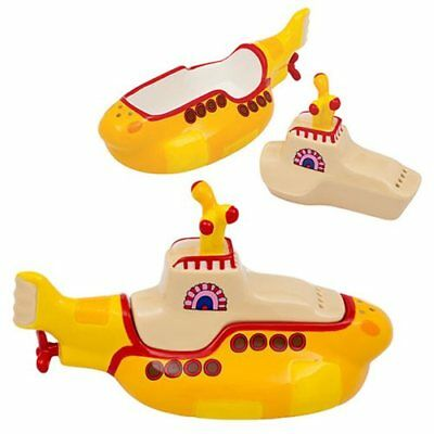The Beatles Yellow Submarine Salt and Pepper Set-New in Box