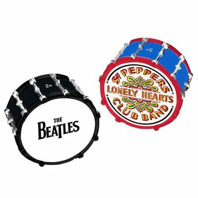 The Beatles Drums Ceramic Salt and Pepper Set-New in Box