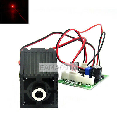 12V Focusable Dot Orange Red laser 635nm 638nm 300mW Diode laser module CW w/TTL
