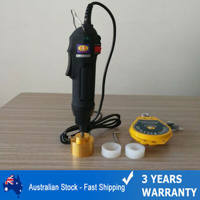 hand-held electric capping machine bottle capmachine Sealers Sealing Machines AU