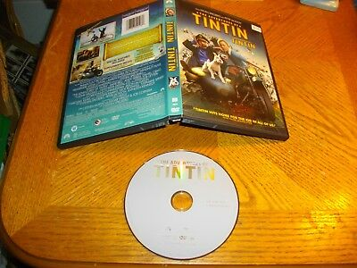 The Adventures of Tintin (DVD, 2012, Canadian)