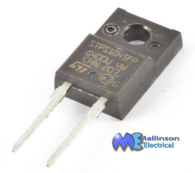 STPS10 FP 10A 45v High Power Schottky Rectifier Diode TO-220FPAC package