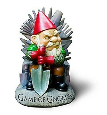"""Big Mouth Toys """"Game of Gnomes"""" Garden Gnome Statues. Shipping Included"""