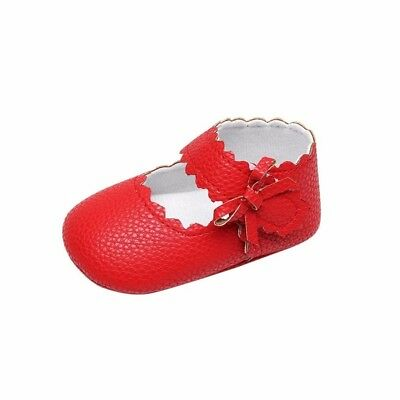 (0-6 Months, Red) - Kolylong Baby Toddler Newborn Girls Cute Shoes Soft Sole