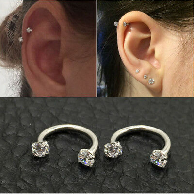 Lovely Piercing Septo Nose Lip Ear Septum Cartilage Captive Hoop Ring Jewelry
