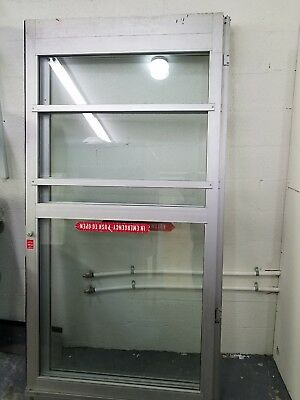 2 Commercial Glass Doors In Excellent Condition