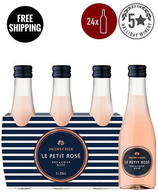 Jacob's Creek Le Petit Rose Piccolo 200Ml (24 Bottles)