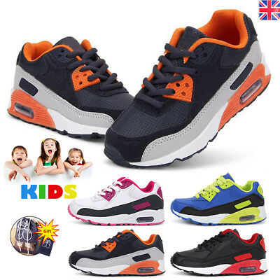 UK Boys Child Toddler Kids School Skate Boots Trainers Girls Sports Shoes Sizes