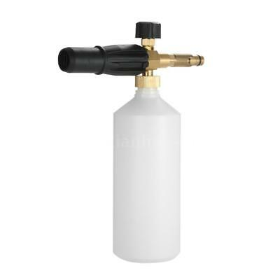 Foam Lance 1L Bottle Snow Nozzle Injector Soap Nilfisk Pressure Car Washer S5Q3