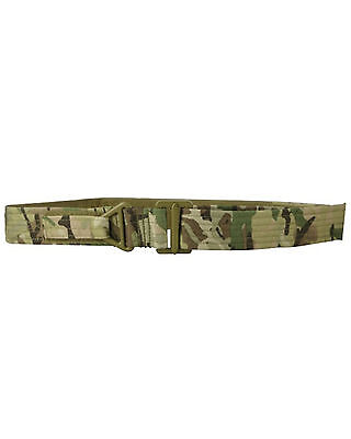 """Tactical Rigger Belt BTP Camo One Size Fits 30"""" to 38"""" Waists"""