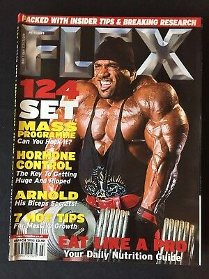 Flex Joe Weiders Magazine March 2005
