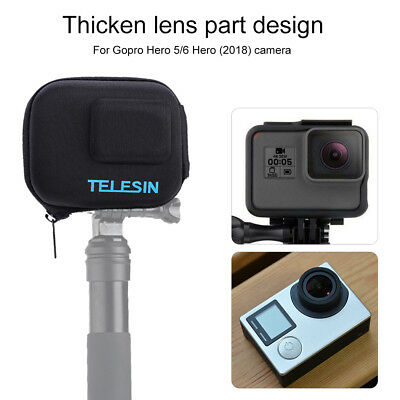 TELESIN Portable Camera Bag Cover Protective Carrying Case for GoPro Hero 5/6