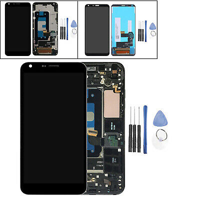 For LG Q6 M700 Alpha / M703 M700H M700A LCD Display Touch Screen Digitizer+Frame