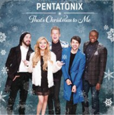 Pentatonix-That's Christmas to Me (UK IMPORT) CD NEW
