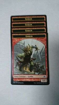 goblin tokens guilds of ravinca x4