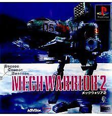 USED PS1 PS PlayStation 1 Mech Warrior 2
