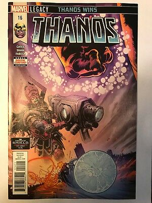 Thanos #16 First Print Ghost Rider Frank Castle Punisher Donny Cates New 1 2018