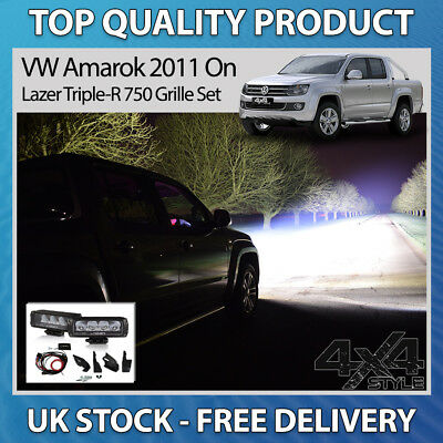 Lazer Lamps Triple-R 750 Ultra Long Range Led Spot Light For Vw Amarok 2011>