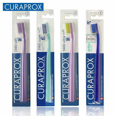 Curaprox Ultra Soft Super Sensitive Bristle Toothbrush 5460 3960 1560 CS5460