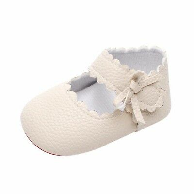 (6-12 Months, Beige) - Kolylong Baby Toddler Newborn Girls Cute Shoes Soft