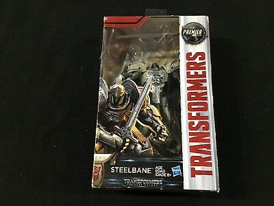 Hasbro Transformers The Last Knight Deluxe Steelbane Premier Edition - New Box