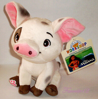 Build A Bear Puga Pig Moana Movie Pet 6 5 Tall Sitting Plush 2018 Tags Vieted Org Vn