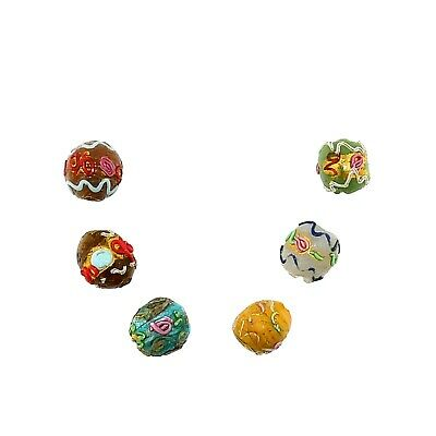 """(2337) Murano """"Fiorate"""" Glass Beads, late 19th c./early 20th c."""