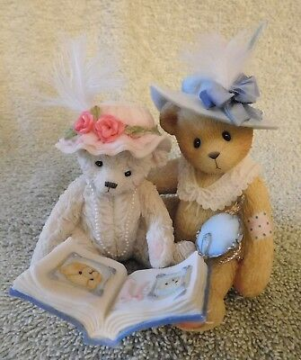 Cherished Teddies 1999 Tess And Friend  Things Do Not Change We Do  # 661953