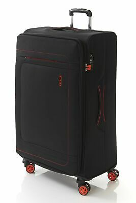 New Flylite Groove Pack 80cm Soft Suitcase Luggage Blue by-Strandbags