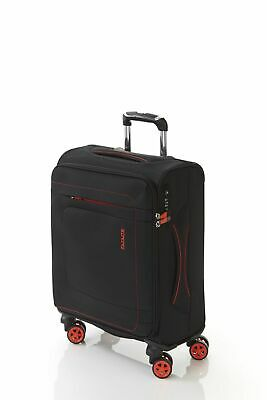 New Flylite Groove Pack 53cm Carry On Soft Suitcase Luggage Blue by-Strandbags