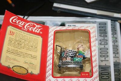 Coca Cola Brand Treasury Masterpiece STOCKING UP FOR THE HOLIDAYS Ornament