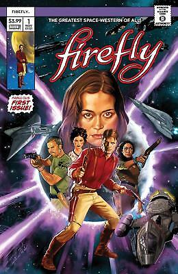 Firefly #1 Diego Galindo Variant Homage To Star Wars #1 1St Print Ltd To 600