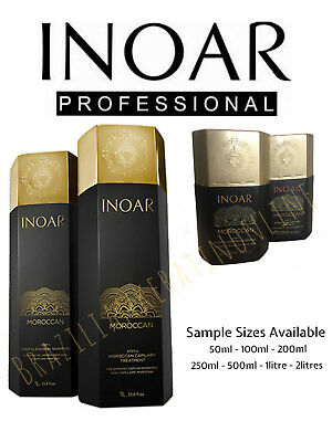 Inoar Moroccan Brazilian Keratin Treatment Blow Dry Hair Straightening Kit/Set