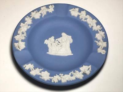 Wedgwood Blue Jasper Ware Ashtray Made in England