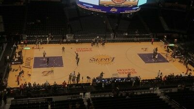 LA Lakers Vs Golden State Warriors! 4/4/19 Section 302! Great Seats! First Row!