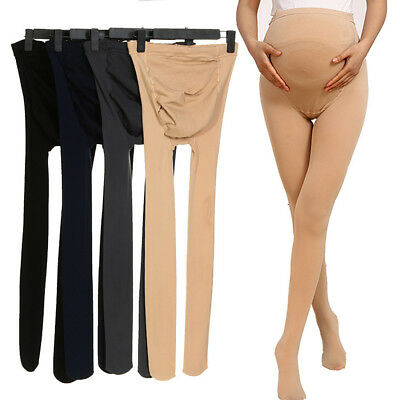 320D Pregnant Women Tights Maternity Stockings Velvet Pantyhose U Shape Support