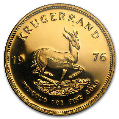 1976 South Africa 1 oz Proof Gold Krugerrand - SKU #24269