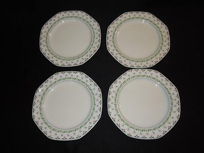 "Set of 4 Christopher Stuart BALI HAI 8"" Salad Plates"