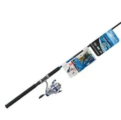 Shakespeare Catch More Fish Rod and Reel Fishing Combo Boat and Jetty