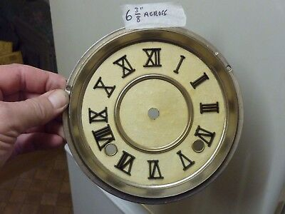 "Old 6 3/8"" Wall - Shelf Clock Dial"