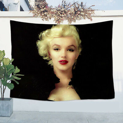 Fashion  Marilyn Monroe Tapestry Vintage Wall Hanging Bedspread Tablecloth